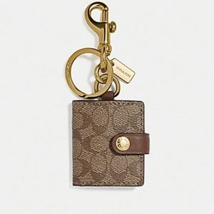 Coach Picture Frame Bag Charm